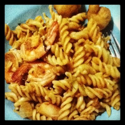 Chili Fusili for my breakfast ! :D