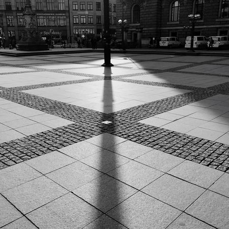 The City Light Building Exterior City Architecture Built Structure Outdoors Day No People Hamburg Townhall Hamburg Sunlight, Shades And Shadows Pattern