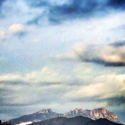 Montserrat viewed from Sabadell Mountains EyeEm Best Shots - Nature