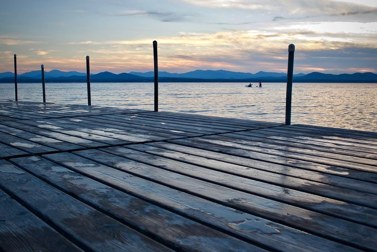 Dock Lake Champlain Lake Champlain, Vermont, Sky, Vivid, Colors, Lake View Leicacamera Mountains And Sky Outdoors Screensaver Sunset Sunset Mountains Vermont Vermont Lifestyle Vermont Scenery Waterfront