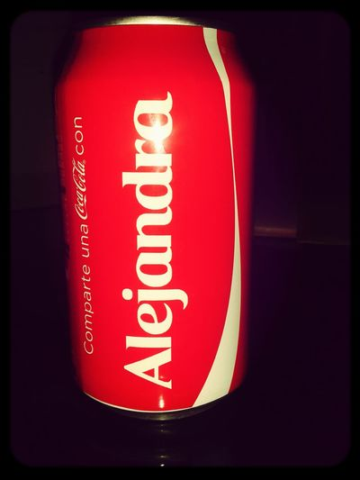 Mi coca♡ Alejandra