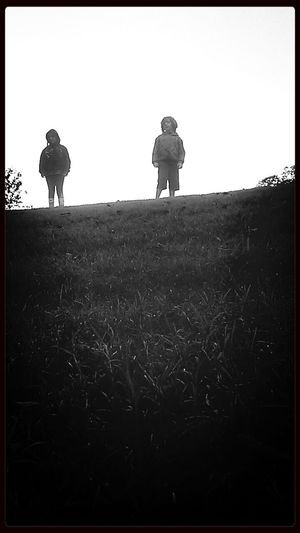 Everyday Lives Atxkids Silhouette Brother & Sister