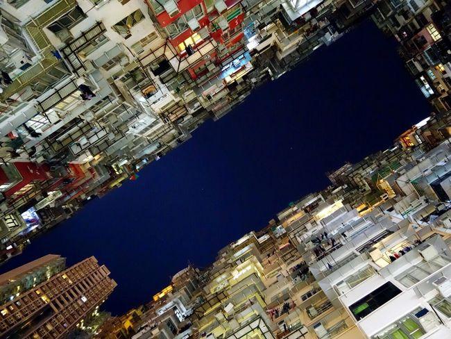 Yick Fat Building Building Lighting Nightview Residential Building HongKong Iamonmywaytoeverywhere Traveling