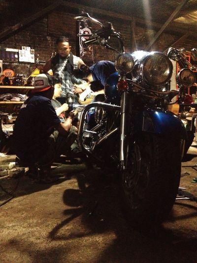 Done Road King Harley Davidson Custom Bikes 35 Garage Bike Roadking Classic