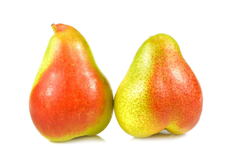 Red yellow pear
