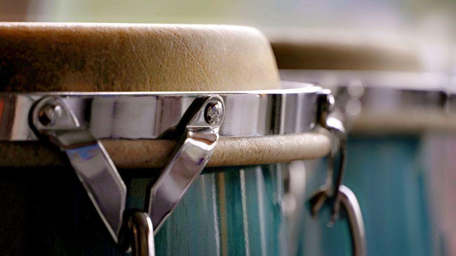 Close-up of drum
