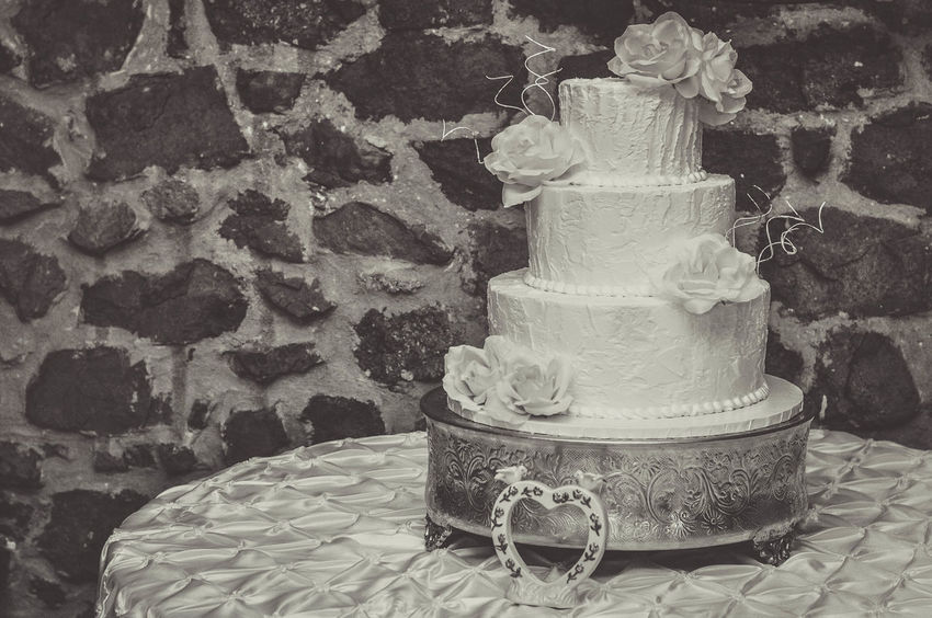 Wedding Cake Dessert Event Frosting Rustic Tiered Wedding Baked Baking Buttercream Cake Delicious Formal Marriage  Sweet White Background