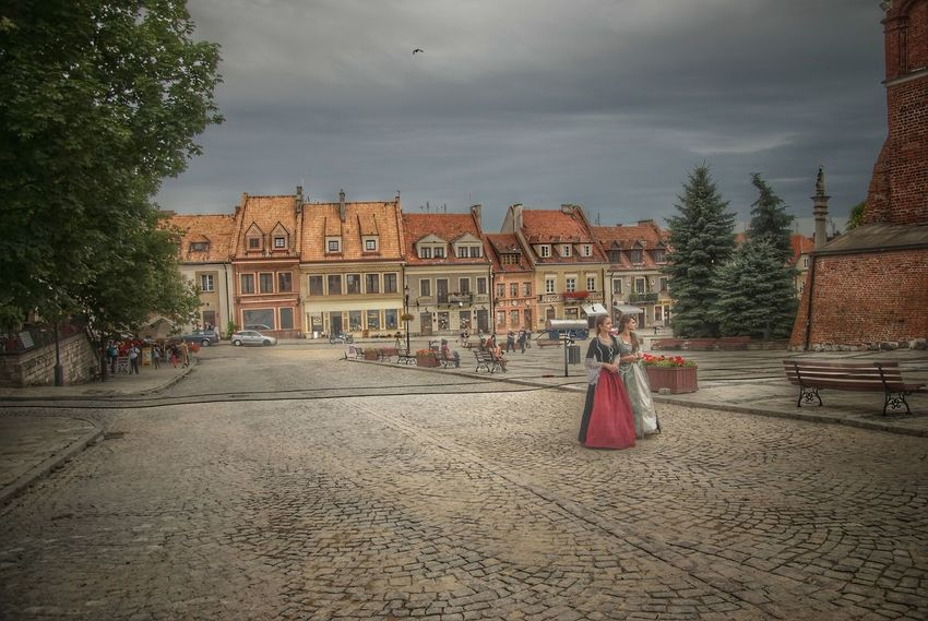 Poland Poland Is Beautiful Cloud - Sky Full Length Leisure Activity Sky Travel Destinations Women