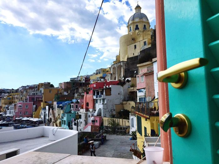 Door To Another World No People Prodica Island Architecture Colorful Village Colourful Houses Buildings Buildings Architecture