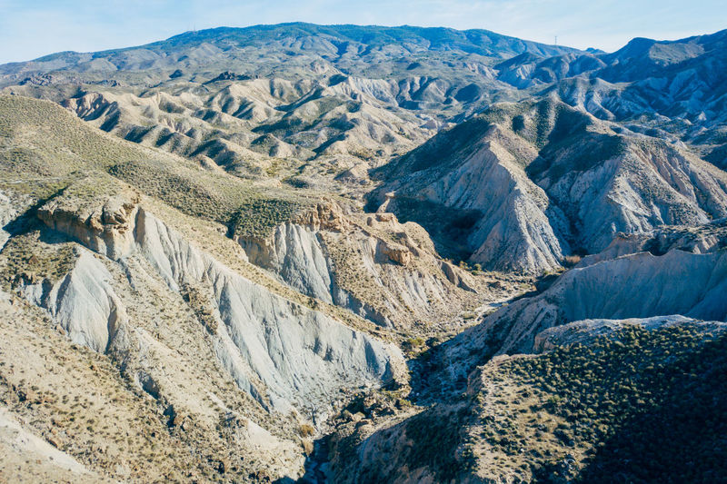 DJI X Eyeem Desert Wild West Aerial View Beauty In Nature Day Desert Landscape Landscape Mountain Mountain Range Nature No People Outdoors Physical Geography Sand Scenics Sky Tabernas Desert Tranquility Western