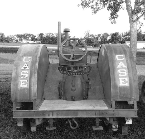 Black And White Old Tractor Never Dies Vintage Tractor Case Tractors