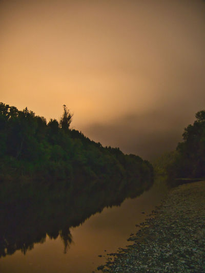 Midnight fog reflecting light from Sonoma valley. Long exposure. #luminar2018 Light Nightphotography Beauty In Nature Environment Fog Guerneville Lake Long Exposure Mist Nature No People Outdoors Reflection River Russian River Scenics - Nature Sky Tranquil Scene Tranquility Water