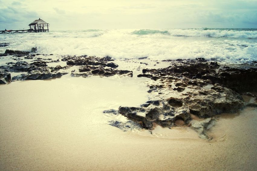 Sunset Silhouettes Cancun Carebean Путешествие на Карибское море