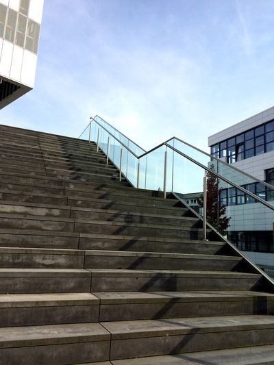 A New Beginning Kleve Career Karriereleiter Stairs No People Career Steps Grey Campus Architecture Germany A New Beginning