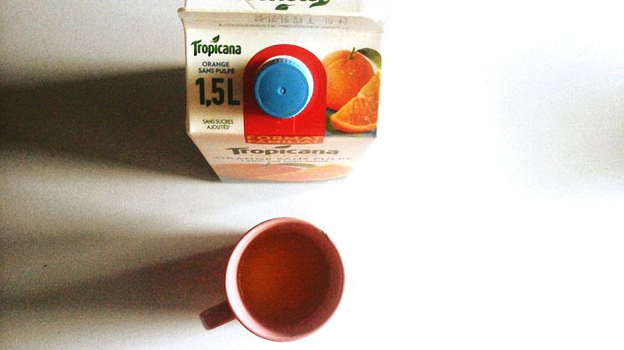 orange le matin