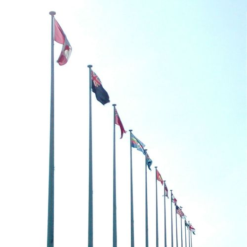 Flags Plymouth Pattern Posts Sunshine Silouette Enjoying The Sun Repetition Eye4photography  EyeEm Best Shots