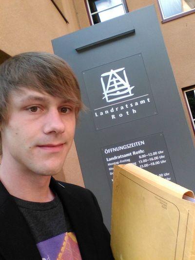Unterstützungsunterschriften bei der Kreiswahlleiterin abgeben: check! Vielen Dank an die 228 Unterstützer :-) Neuland Piraten Btw17