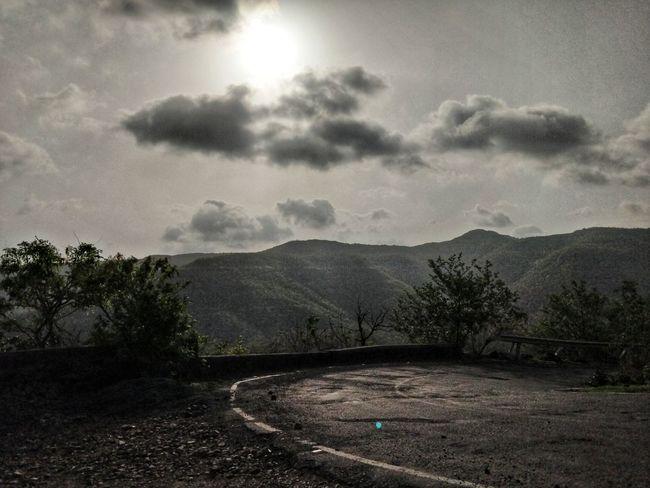 Tree Mountain Storm Cloud Rural Scene Sky Cloud - Sky Countryside Atmospheric Mood