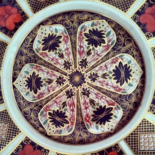 Crownderby Crownderbychina Plate Platepattern