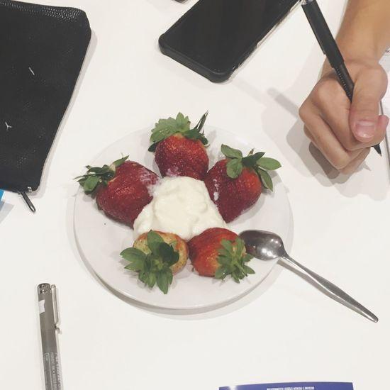 studying Studying Strawberry Heathy