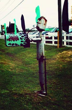Rust Never Sleeps Mailboxes Coastal Carolina Grave Digger