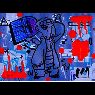 Ededdyeddy Ed Cartoonnetwork Freehand Marcadores BG 016