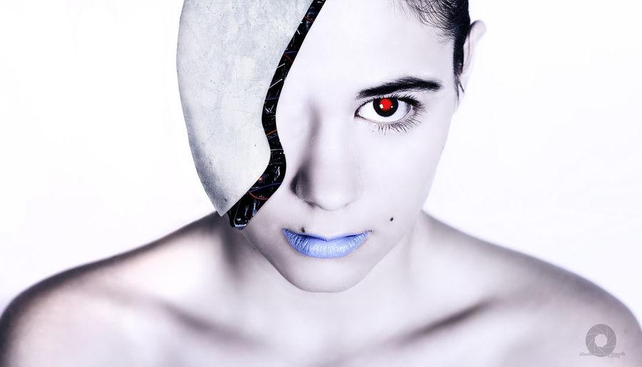 I.A Portrait Ficción Scifi Retrato Desdelotrolado Nikon Girl Portait Photography Portrait Of A Woman