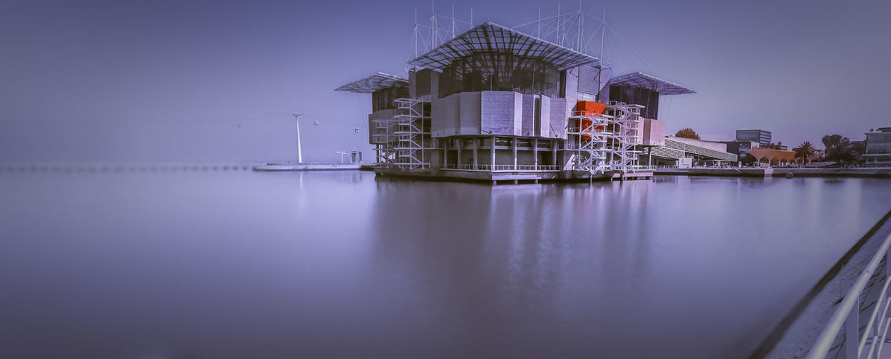 Architecture Building Building Exterior Built Structure Dusk Factory Fuel And Power Generation Illuminated Industry Nature Night No People Outdoors Reflection Sea Sky Water Waterfront