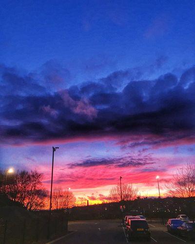 Sunset Sun Sky Skyporn Sky Collection Clouds And Sky Cloudporn Landscape Skyscape Evening