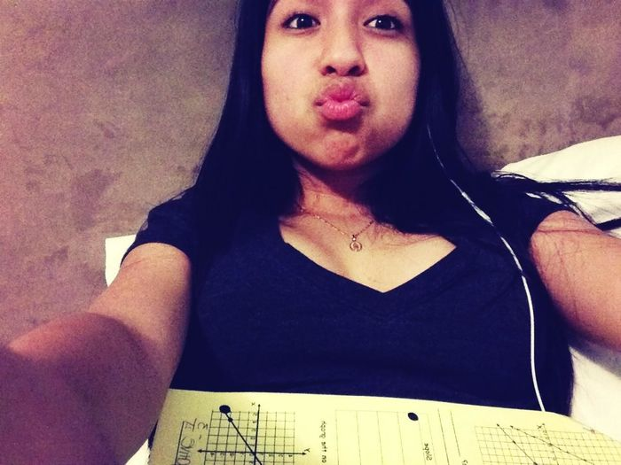 Homework. While Being On The Phone :$