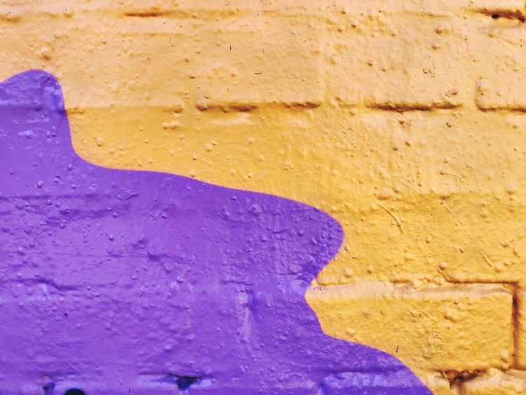 Graffiti Wall - Building Feature Built Structure Architecture No People Day Purple Full Frame Textured  Building Exterior Close-up Backgrounds Wall Paint