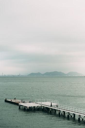 Pier in Japan