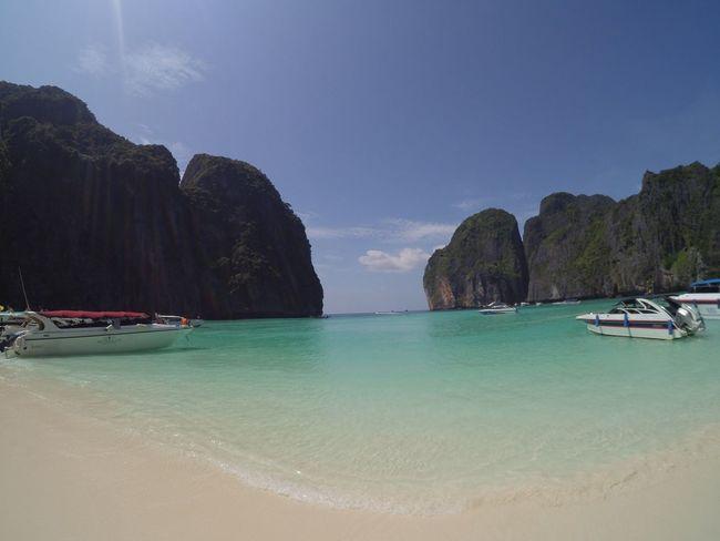 Maya Bay Phi Phi Thailand Travel No Filter