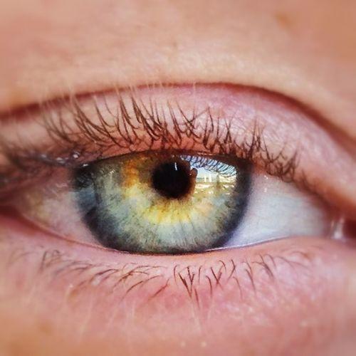 Beautiful Woman Green Eye