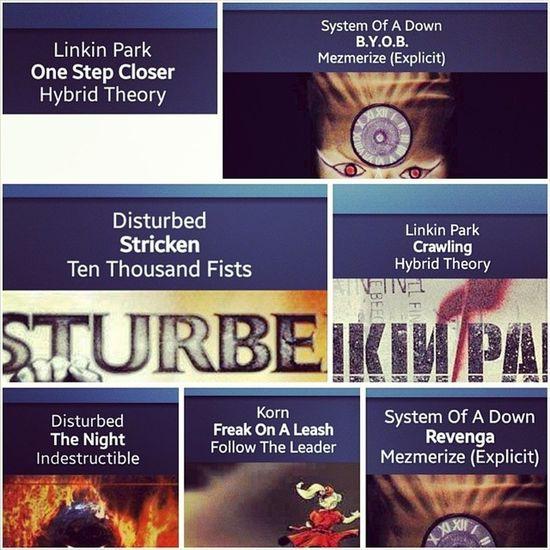 ? ? ✌ ? ? Pandora Night Linkinpark Systemofadown Disturbed Korn