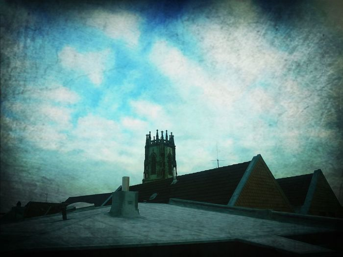Oelde Hanging Out Church Sky #clouds #takingphotos #germany