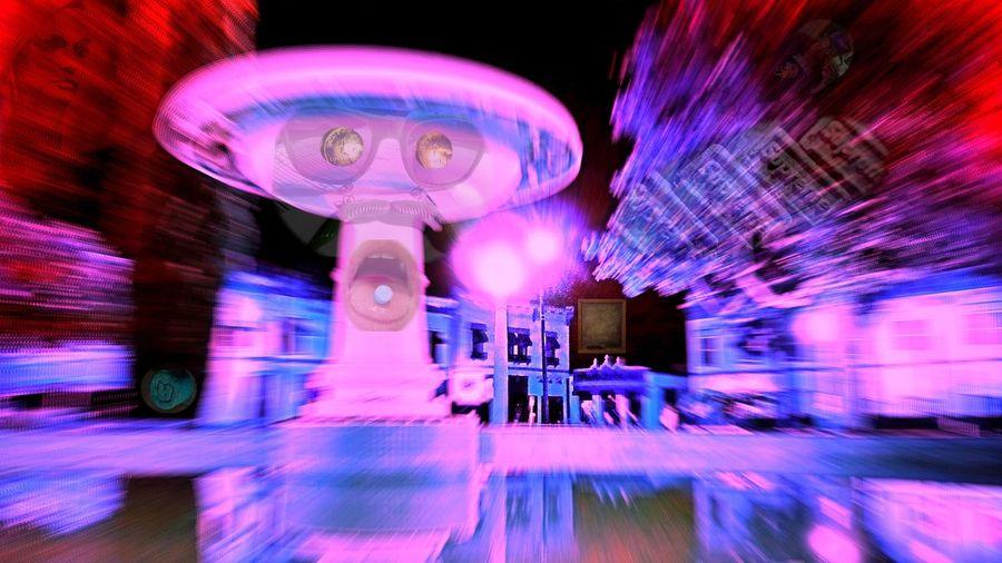 Let's dance: rave Allnightlong Rave Freakscomeoutatnight Techno Orangecircle Oldtownorange Ecstacy Orange Circle Layered Photos Blurred Motion