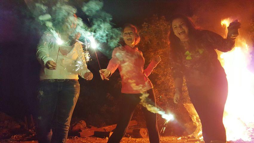 Bonfire Friends Sparklers