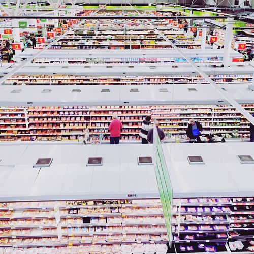 Welcome to the church of ASDA Sunday Shopping Supermarket Shoppers Commerce
