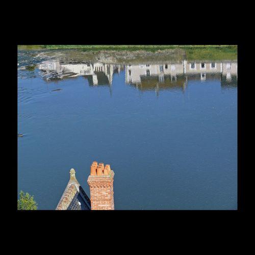 Bord de Loire Loire Amboise River Water EyeEm Best Shots EyeEm Masterclass EyeEmBestPics Urban Landscape Reflection Water Reflection