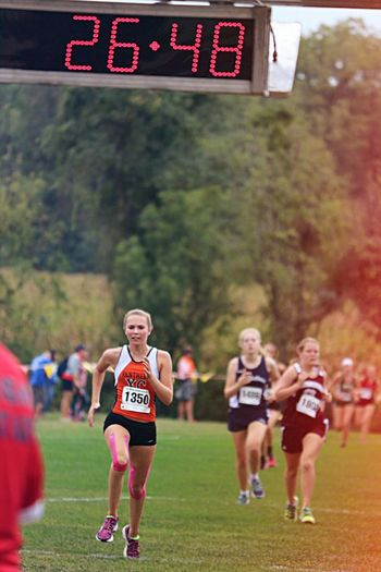 People And Places Leisure Activity Childhood Lifestyles Girls Front View Focus On Foreground Fun Enjoyment Flying Outdoors Crowd The Color Of Sport EyeEm Gallery Flygirls Cross Country