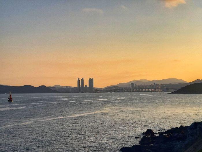 Sunset in Busan