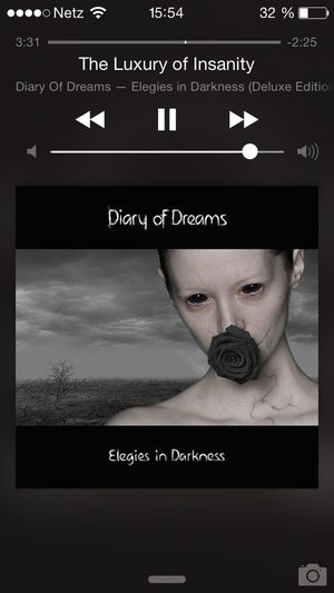 Song Of The Day Diary Of Dreams