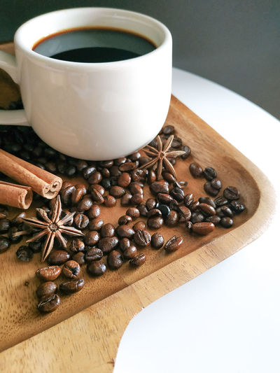 coffee Anise Mocha Star Anise Drink Hot Chocolate Coffee Bean Coffee - Drink Scented Chocolate Coffee Cup Ground Coffee Raw Coffee Bean Black Coffee