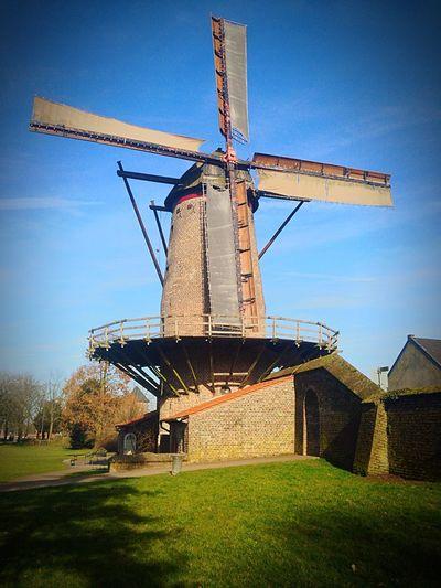 Wind Mill Blue Sky Xanten