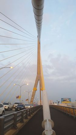 Long Slings, Top of the Rama8th Bridge, Argitecture, Getting In Touch Cheese!