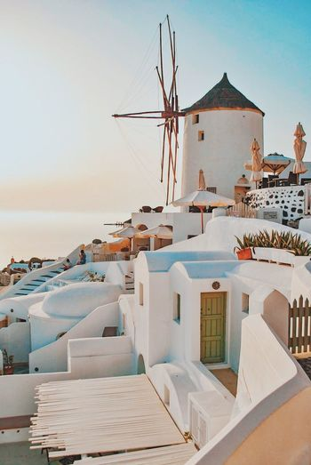 Be. Ready. Windmill Wind Power Outdoors Place Of Worship Alternative Energy Travel Destinations No People Tourism Whitewashed Architecture Spirituality Sky Wind Turbine Built Structure Traditional Windmill Day Building Exterior Nature Santorini Santorini, Greece An Eye For Travel