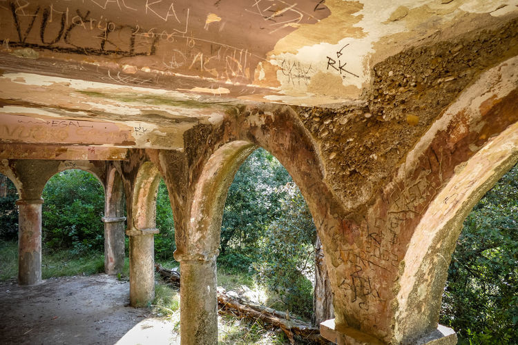 Architecture Built Structure History The Past Arch Architectural Column No People Day Old Ancient Solid Nature Indoors  Travel Destinations Rock - Object Rock Damaged Building Stone Material Ancient Civilization Ruined Archaeology Ceiling