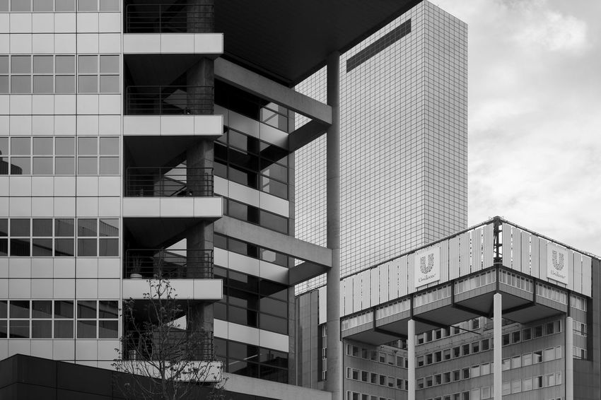 Archineos Architecture Architecture B&n B&w Bianco E Nero Black And White Blanco Y Negro Building Exterior Buildings City Closed Skyline Facades Geometry Holland Modern Monochrome Netherlands Olanda Outdoors Rotterdam Skyscraper Ugo Villani Urban Urban Geometry