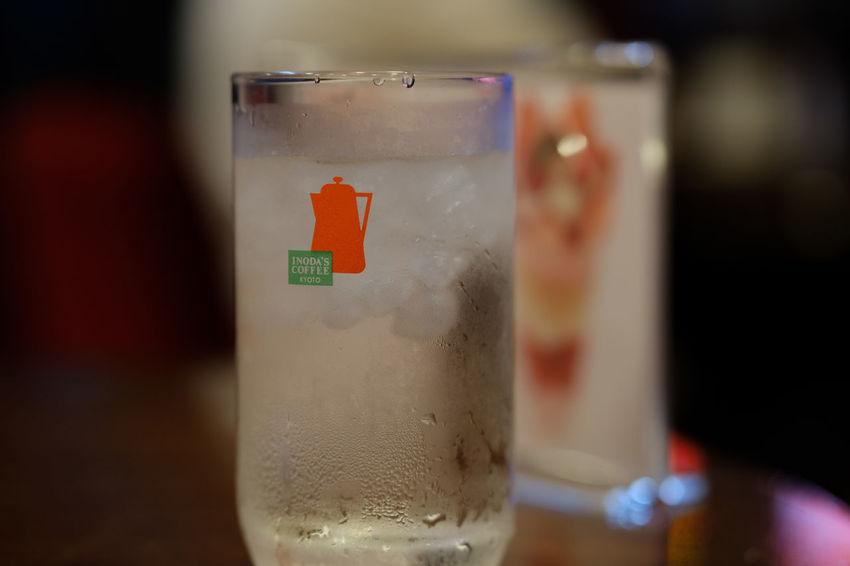 Cafe Drink Food And Drink Fujifilm FUJIFILM X-T2 Fujifilm_xseries Glass Inoda Coffee Japan Japan Photography Tokyo Water X-t2 イノダコーヒ カフェ